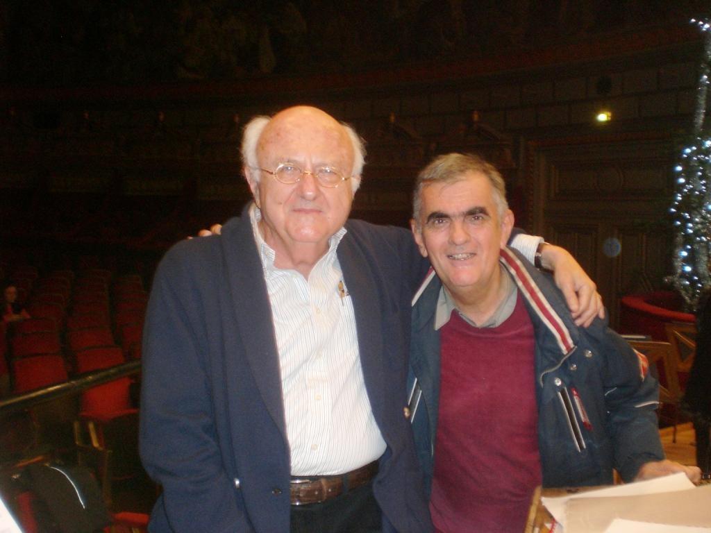 Vladimir Cosma & Serban Nichifor la Atheneu in decembrie 2015