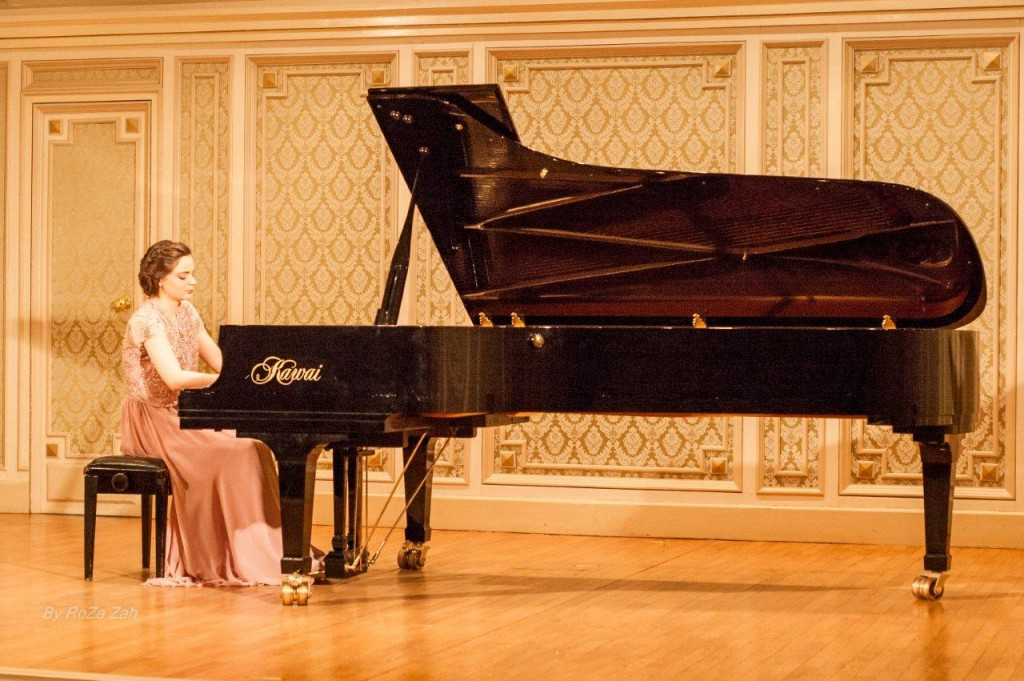 Daria Tudor - o viitoare mare pianista