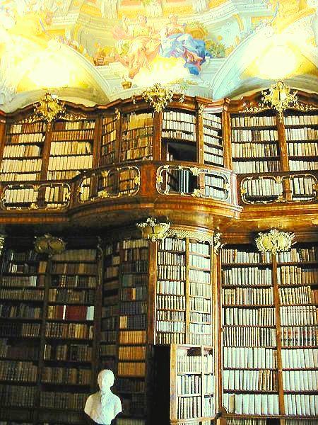 Biblioteca St. Florian, Austria