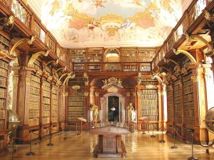 Biblioteca Abatiei din melk, Austria