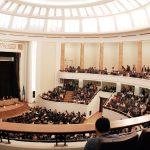 Aula Magna a Facultatii de Drept - Bucuresti