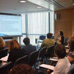 Biblioteca Nationala a Romaniei - prezentare in sala de conferinta