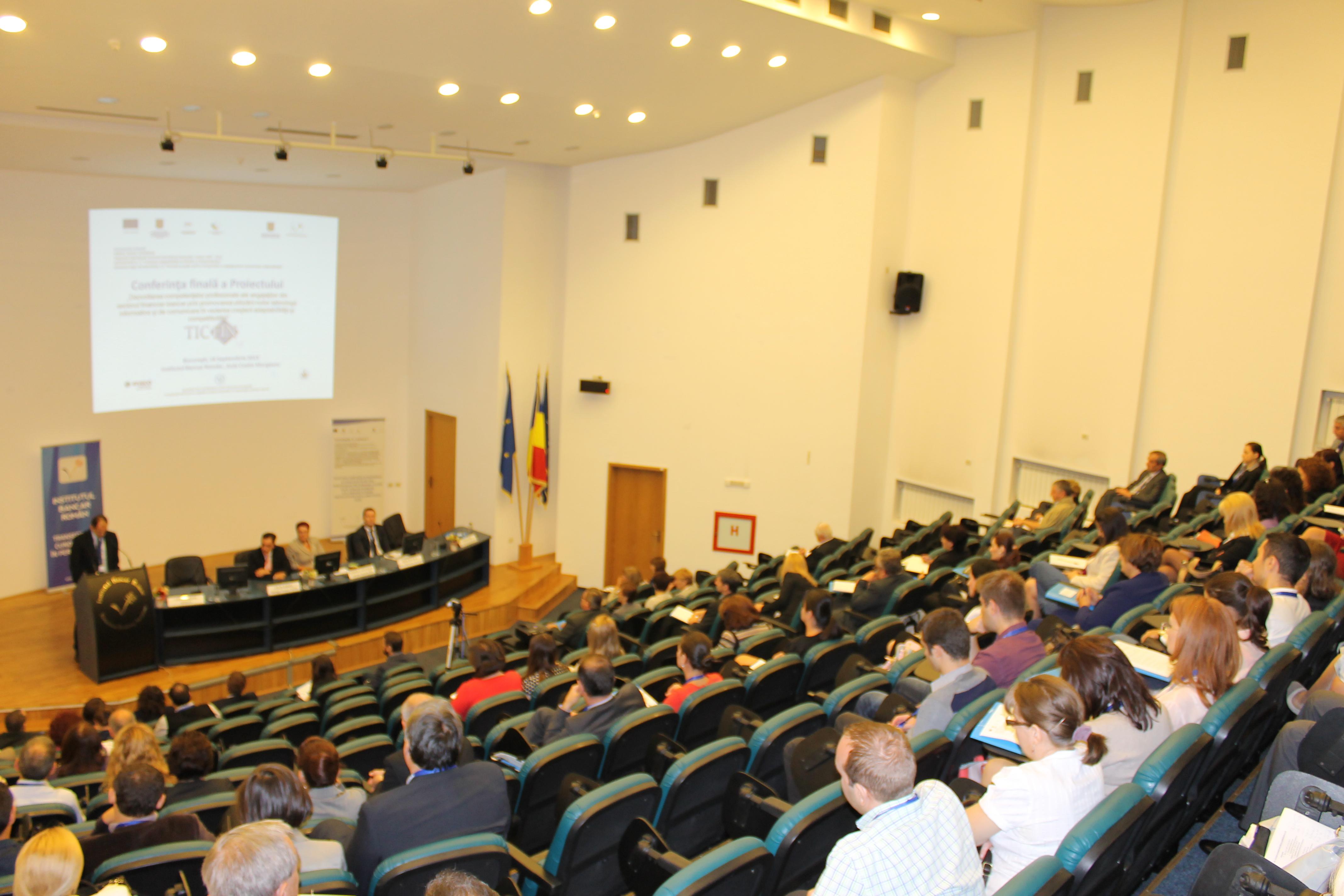 Institutul Bancar Roman - Aula