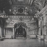 Sala Tronului in perioada monarhiei