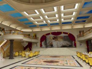 Scena Salonului de evenimente - Le Chateau