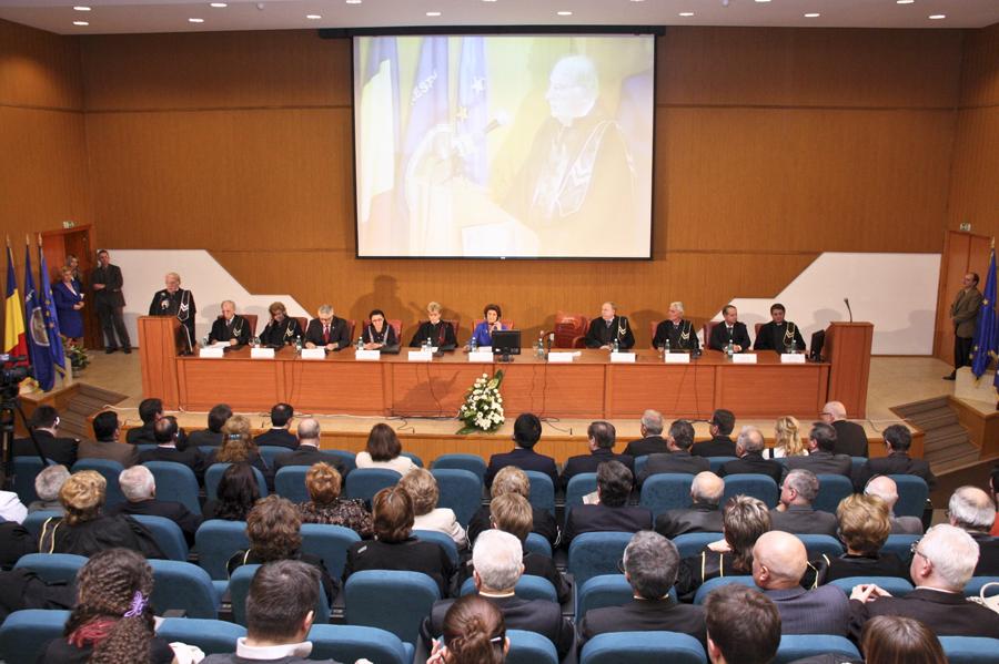 Universitatea Crestina Dimitrie Cantemir - Aula Magna