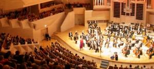Colegiul National de Muzica George Enescu sala de festivitati