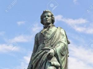 Statuia lui Mozart din Salzburg