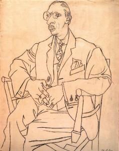 Stravinsky desenat de Pablo Picasso