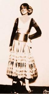 Ida Rubinstein in Bolero 1928