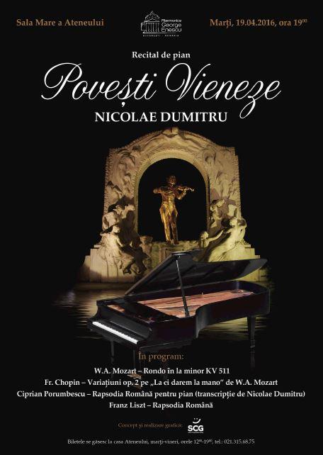 Concert Nicolae Dumitru