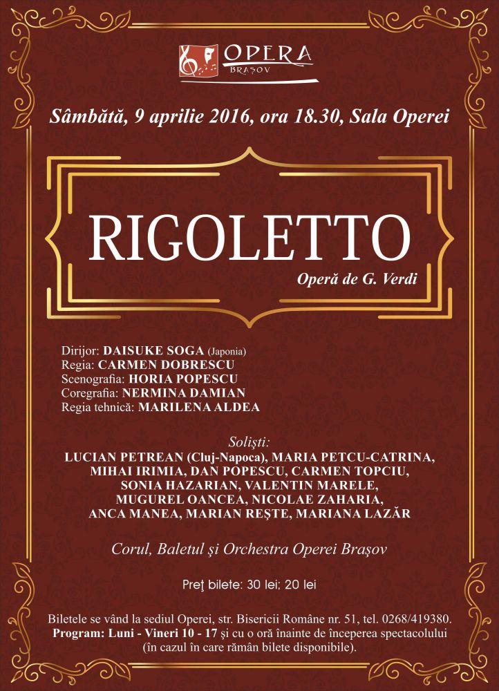 Rigolleto Opera Brasov