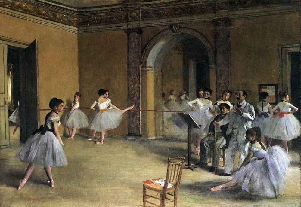 Foaierul pentru balet, la Opera