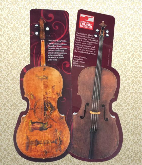 Afis cu violoncelul The King