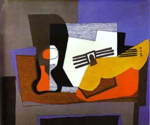 Picasso -Still Life with Guitar 1921