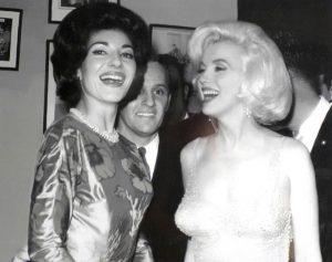 Marilyn Monroe si Maria Callas