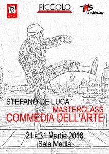 Afis Masterclass Stefano de Luca