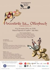 Afis Povestirile lui... Offenbach