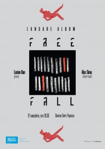 Afis Turneu de lansare album Free Fall - Lucian Ban & Alex Simu