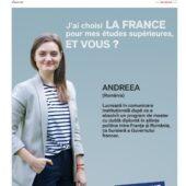 Studii in Franta