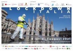 LOCKDOWN ITALIA - afis 100x70