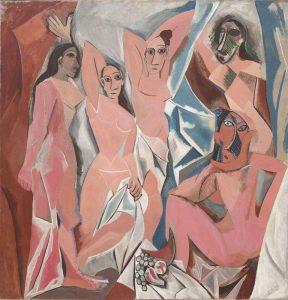 Les Demoiselles d Avignon - Picasso