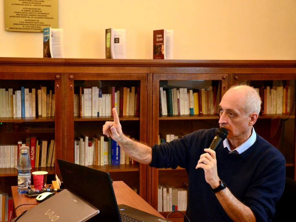 Mircea Deaca - profesor si critic de film