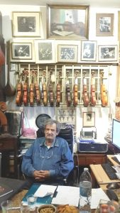 Amnon Weinstein and The Violins of Hope