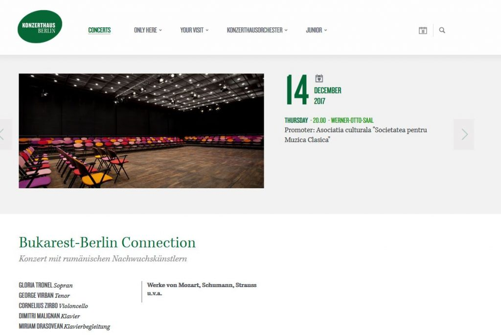 Site-ul Konzerthaus Berlin