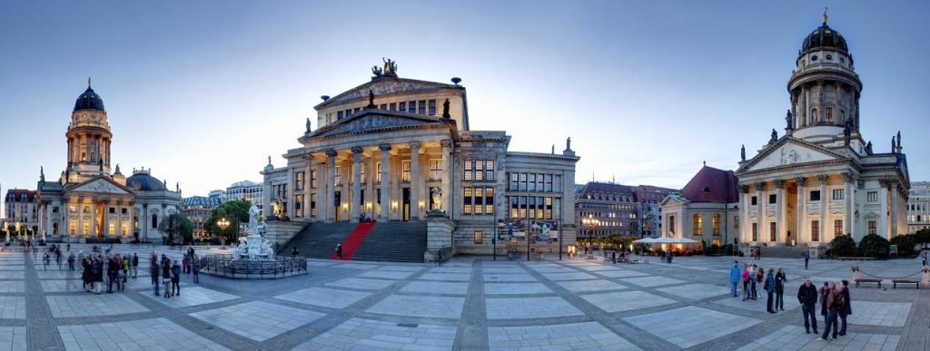 Konzerthaus Berlin, concert cu laureatii Concursului Mihail Jora