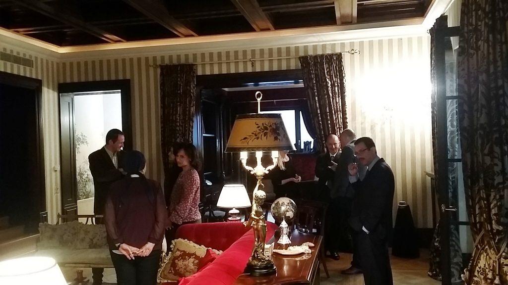Farewell concert to Gerhard Reiweger at the Salah El-Sadek Residence