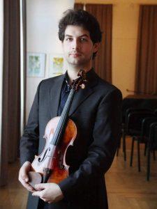 Valentin Serban, violinist