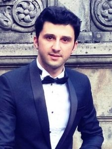 George Ionut Virban - tenor, castigator Concursul Mihail Jora