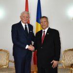 ES Ambasadorul Indoneziei in Romania, dl. Amhar Azeth si Teodor Melescanu, Ministrul Afacerilor Externe ©mae.ro